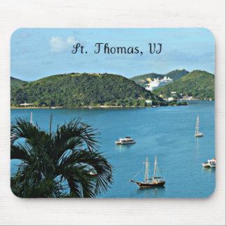 St. Thomas, VI Mouse Pad