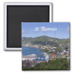 St Thomas View Fridge Magnets