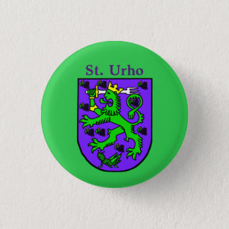 St. Urho Coat of Arms Button