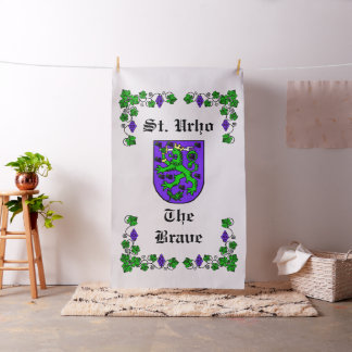 St. Urho Fabric Flag Finnish Coat of Arms