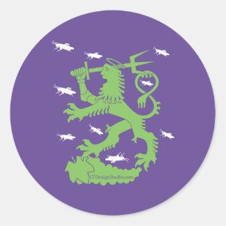 St. Urho - Stickers