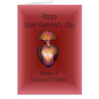 St.Valentine Greeting Card, Happy Valentine's Day Greeting Card