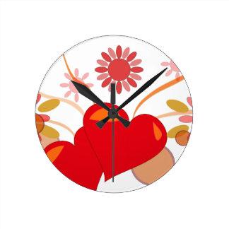 St. Valentine's day Clocks