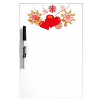 St. Valentine's day Dry Erase Board