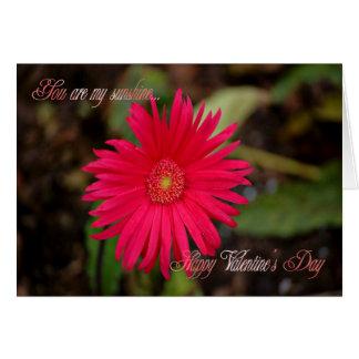 St. Valentine's Day Happy Valentine's Day flower Greeting Card