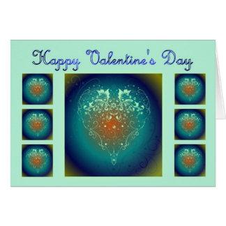 St. Valentine's Day Happy Valentine's Day heart Greeting Card