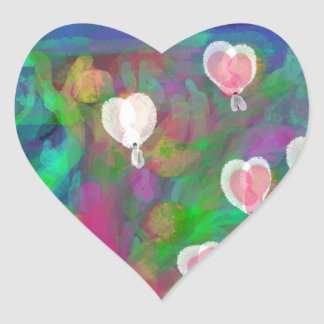 St. Valentine's Day Heart Sticker