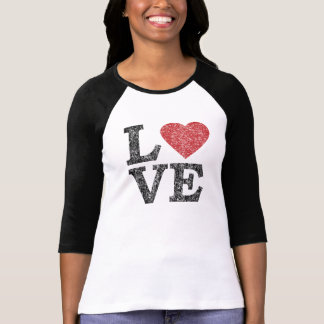 St Valentines Day LOVE with heart Tee Shirts