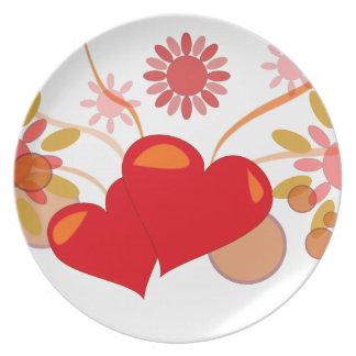 St. Valentine's day Plate