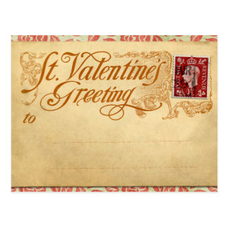 St. Valentines Day Post Card