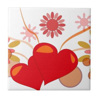 St. Valentine's day Ceramic Tile