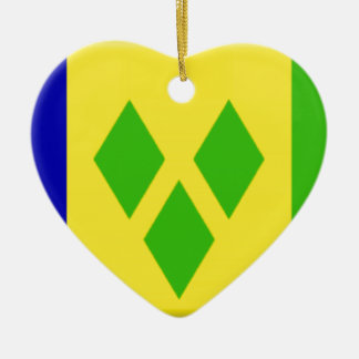 St. Vincent and the Grenadines Ceramic Ornament