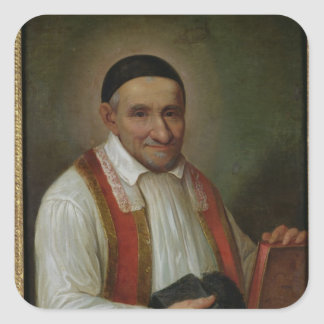 St. Vincent de Paul  1649 Square Sticker