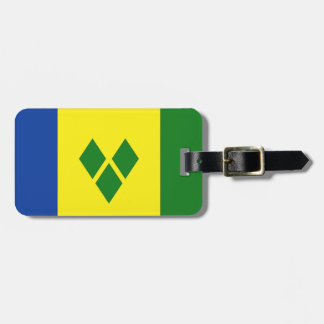 St. Vincent Flag Luggage Tag