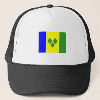 St. Vincent Flag Trucker Hat