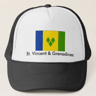 St. Vincent & Grenadines Trucker Hat
