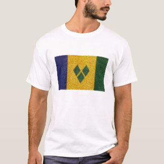 St. Vincent & the Grenadines flag T-Shirt