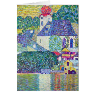 St Wolfgang Church by Klimt Card