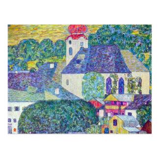 St Wolfgang Church by Klimt Postcard