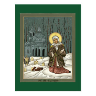 St. Xenia Prayer Card Postcard