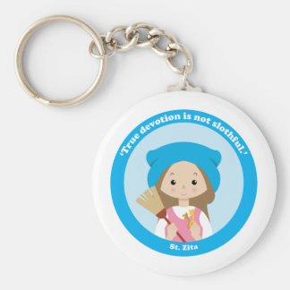 St. Zita Key Ring