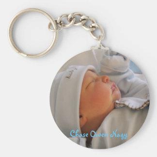 STA70730, Chase Owen Nagy Basic Round Button Key Ring