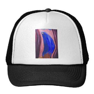 Stabat Mater Dolorosa Blue expressionism Mesh Hat