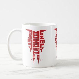 Stabdard 325 ml White Mug with Burgundy Totem logo