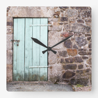 Stable Door and Stone Wall Clock