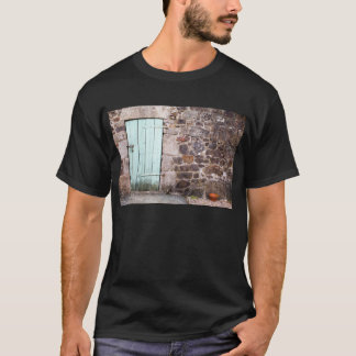 Stable Door and Stone Wall Mens T-Shirt