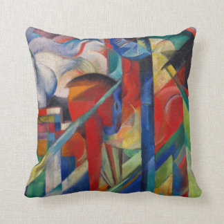 Stables by Franz Marc (L) Cushion