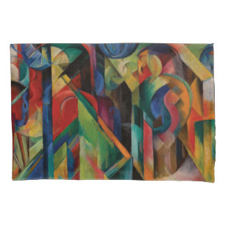 Stables By Franz Marc Pillowcase