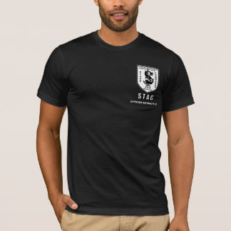 STAC FRONT bw, OFFICIER INSTRUCTEUR T-Shirt