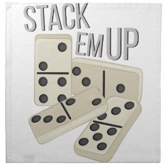 Stack Em Up Napkin