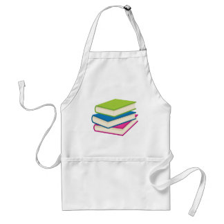 Stack of Books Standard Apron