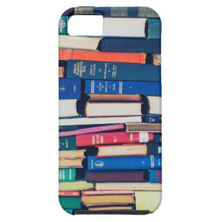 Stack of books tough iPhone 5 case