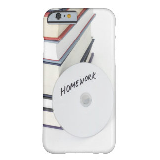 Stack of books with CD Barely There iPhone 6 Case