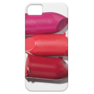 Stack of broken lipstick iPhone 5 cases