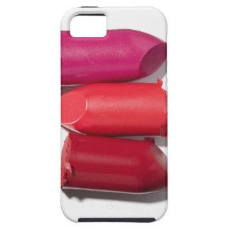 Stack of broken lipstick iPhone 5 case