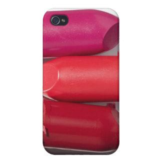 Stack of broken lipstick iPhone 4 cover