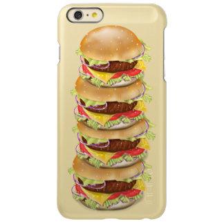 Stack of hamburgers or cheeseburgers incipio feather® shine iPhone 6 plus case