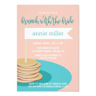 Stack of Pancakes   Brunch Bridal Shower Card