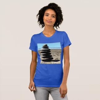 Stack Rocks Ocean View Slouchy Boyfriend T-Shirt