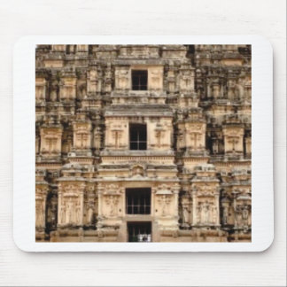 stacked ancient building mouse pad