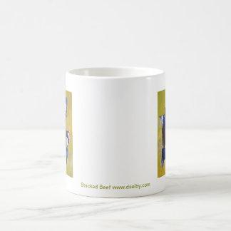 Stacked Beef Coffee Mug