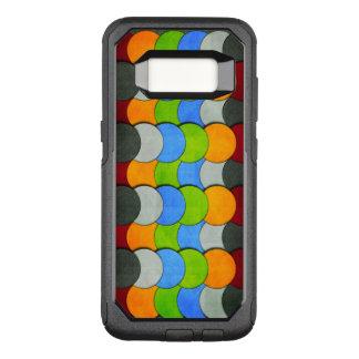 Stacked Circles-Textured by Shirley Taylor OtterBox Commuter Samsung Galaxy S8 Case