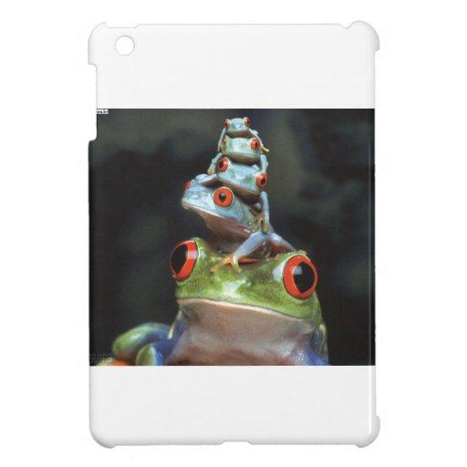 Stacked Frogs Cover For The iPad Mini