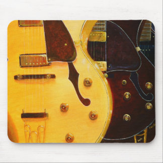 Stacked Guitars Mouse Pad Mousepad