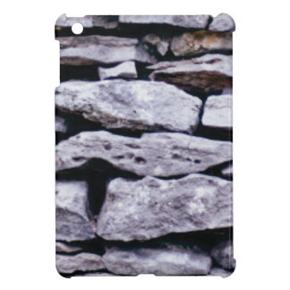 stacked rock wall cover for the iPad mini