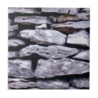 stacked rock wall tile